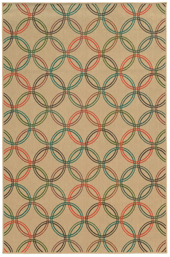 Tommy Bahama Seaside SES 3360V Beige / Multi Rug