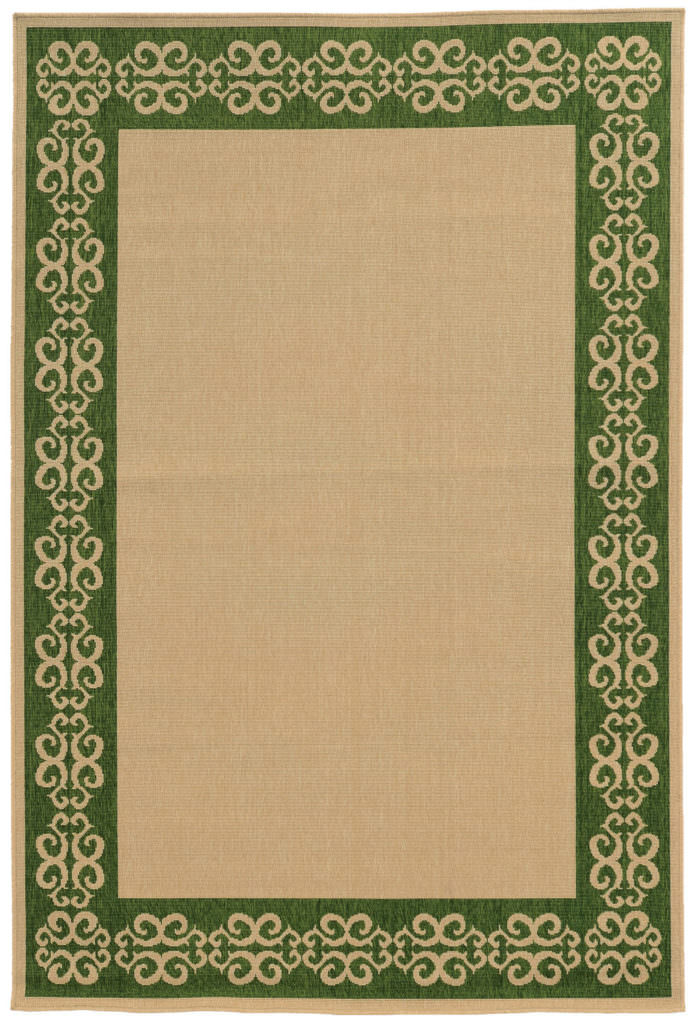 Tommy Bahama Seaside SES 7127F Beige / Green Rug