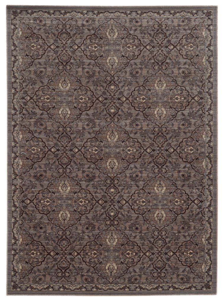 Tommy Bahama Vintage VIT 5509D Brown / Blue Rug
