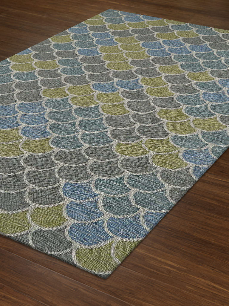 Dalyn Cabana CN13 Multi Rug Floor View