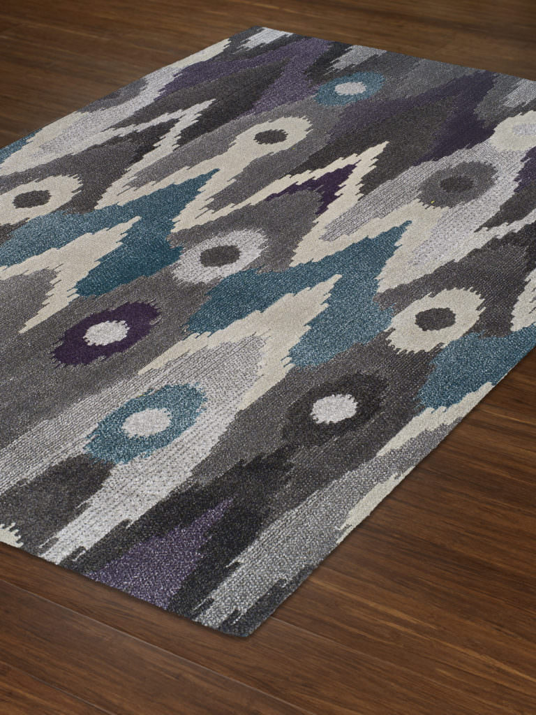 Dalyn Grand Tour GT116 Graphite Rug Floor View