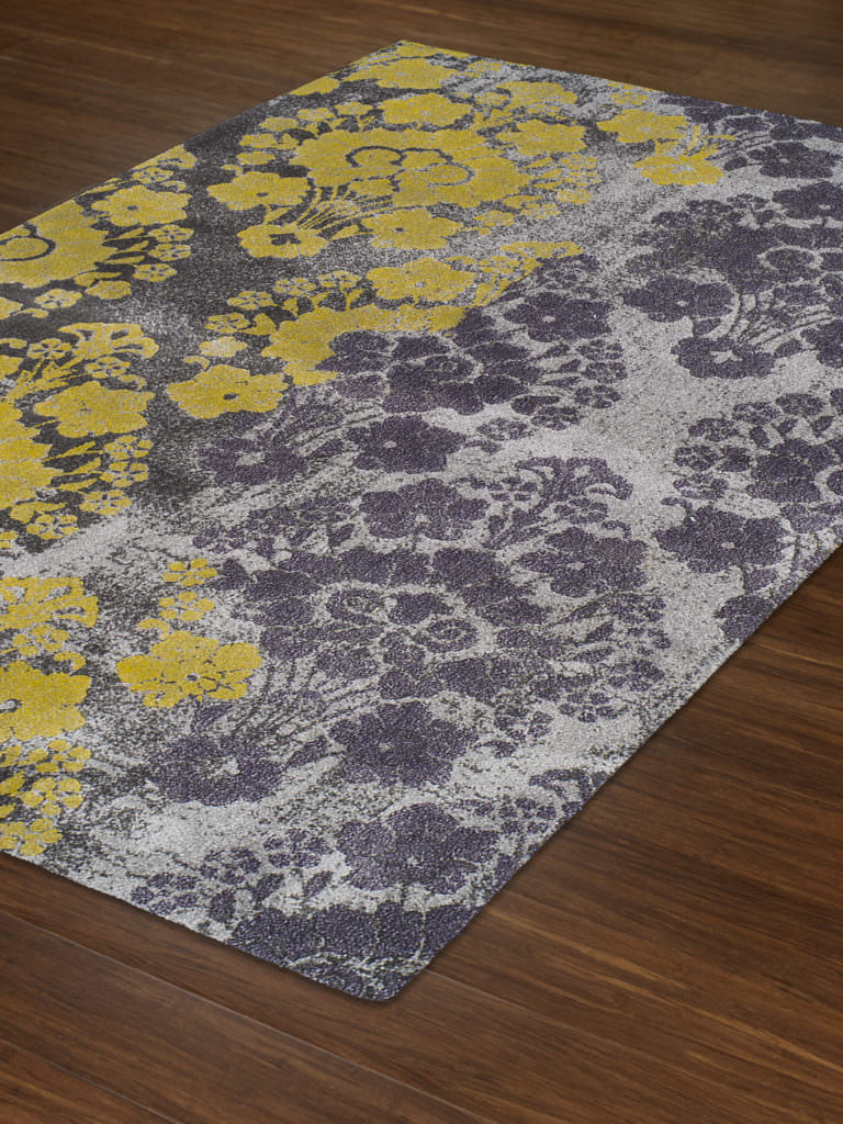 Dalyn Grand Tour GT20 Silver Rug Floor View