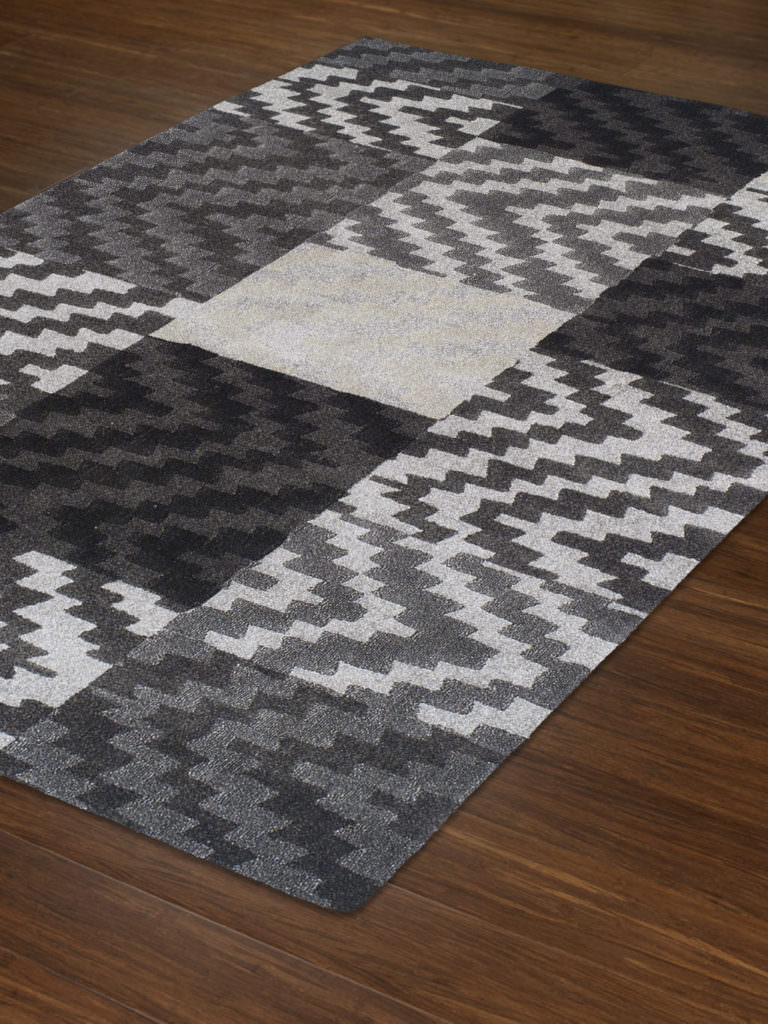 Dalyn Grand Tour GT82 Pewter Rug Floor View