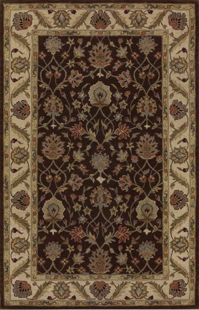 Dalyn Jewel JW33 Chocolate / Ivory Rug