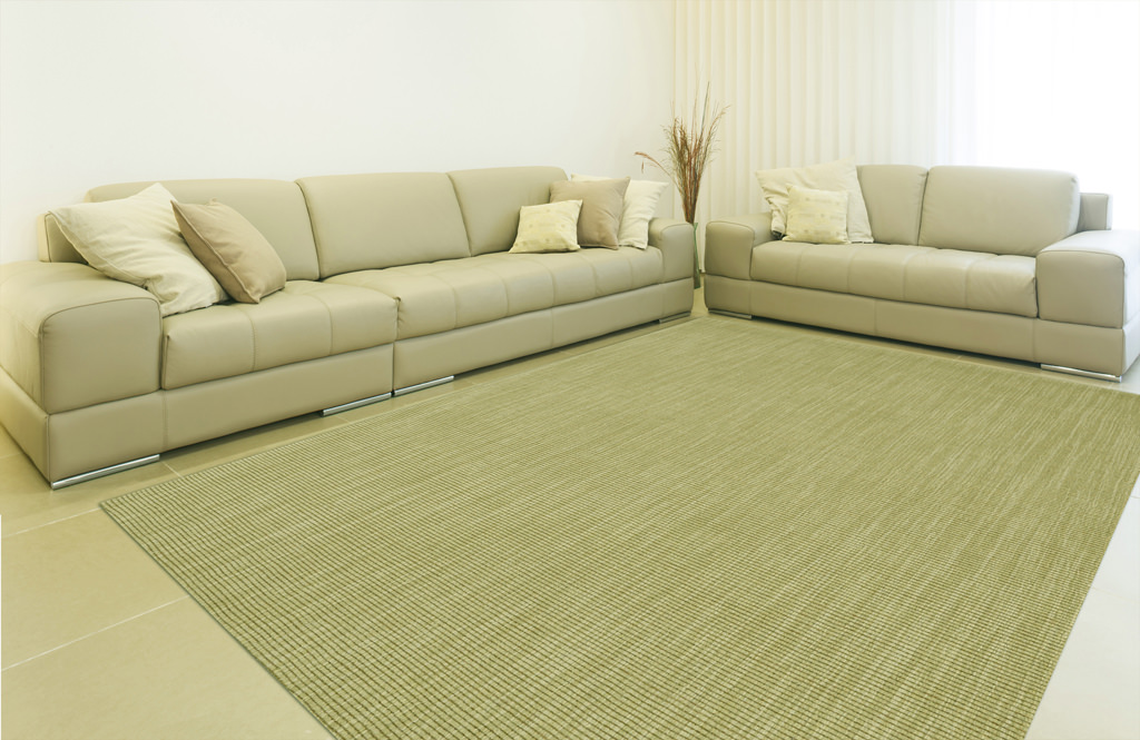 Dalyn Monaco Sisal MC100 Aloe Rug Room View