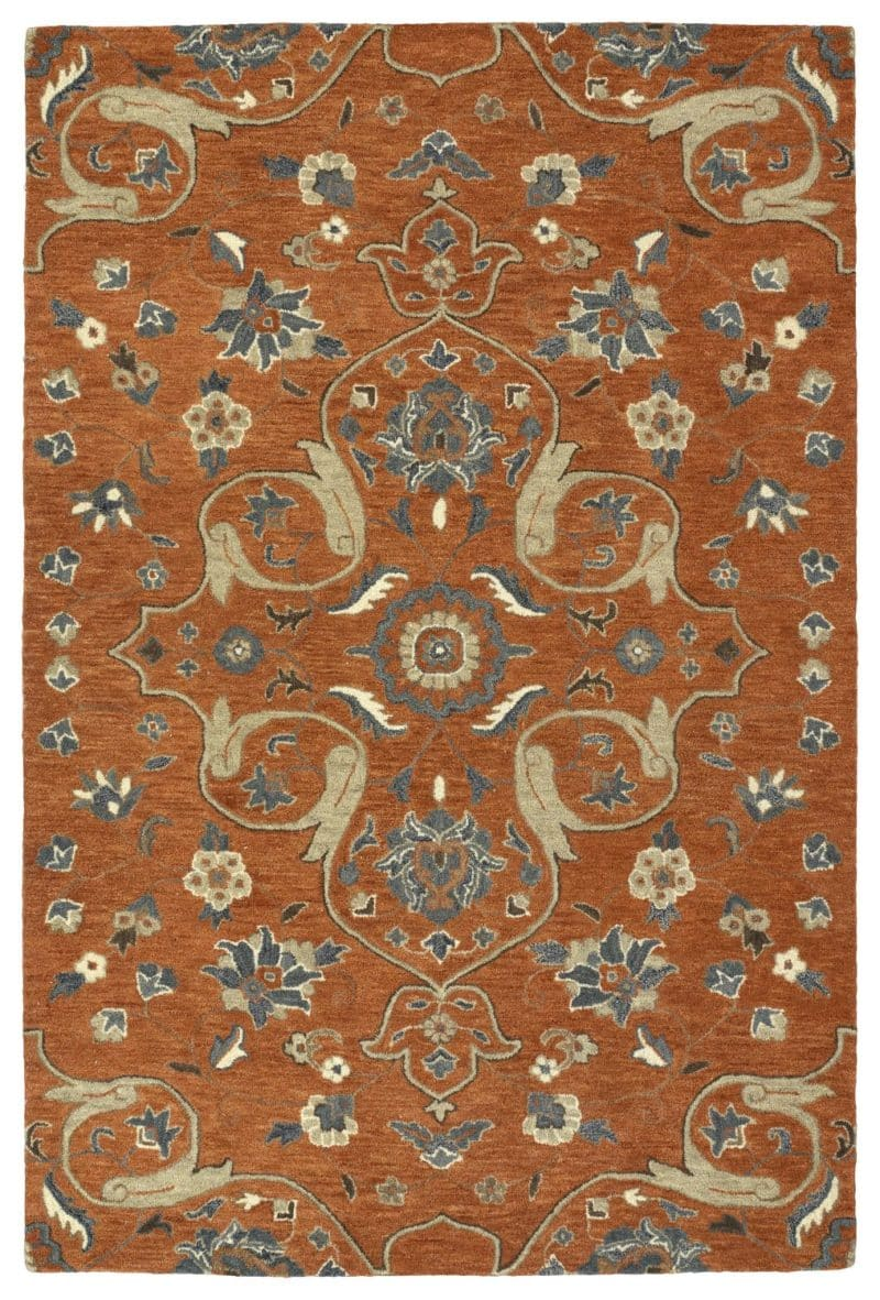 Kaleen Helena Collection 3213-53 Paprika Rug