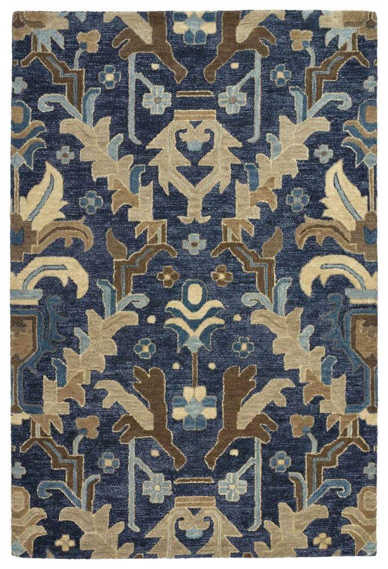 Kaleen Brooklyn 5311-22 Navy Rug