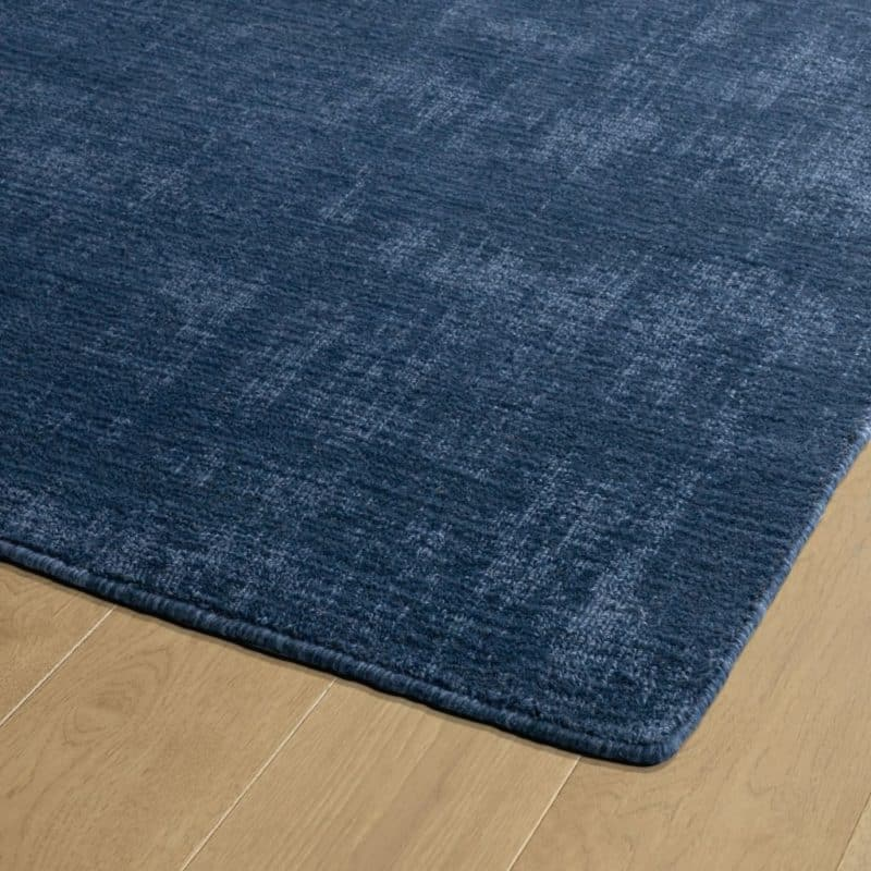 Kaleen Lauderdale LDD01-17 Blue Rug Close-Up